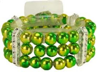 Hi Voltage Green Corsage Bracelet