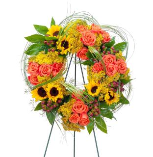 Heaven\'s Sunset Wreath