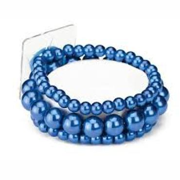 Bubble Bath Corsage Bracelet Blue