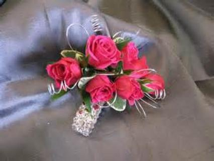 Stunning Spray Rose Corsage